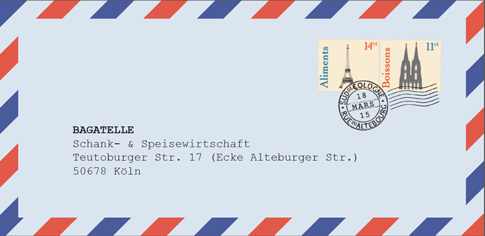 Bagatelle Köln Südstadt